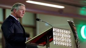 HRH Prince of Wales reading out HM Queen Elizabeth II's Message